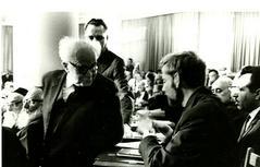 יום ראשון בכנסת, 1965, עם דוד בן-גוריון