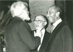 עם סאדאת ובגין, 1979