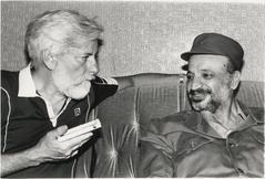 Встреча с Арафатом в Бейруте во время осады города, 1982 год