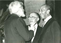 С Садатом и Бегиным, 1979 год
